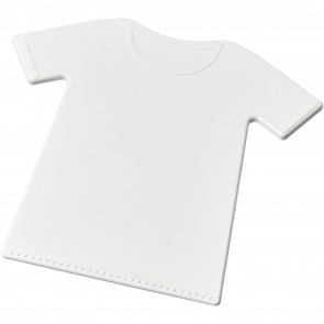 Brace t-shirt shaped ice scraper
