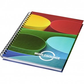 Wire-o A4 notebook hard cover