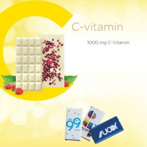 25g Chocolate Bar with 1000 mg C-Vitamin