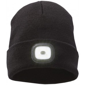 Mighty LED knit beanie, Black