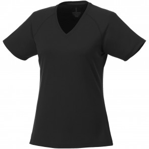 Amery short sleeve women's cool fit v-neck shirt