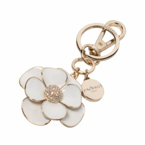 Key ring Madeleine White