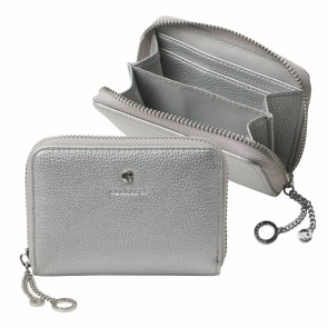Mini wallet Beaubourg Chrome