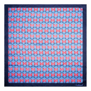 Scarf Pontia Bright Blue