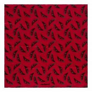 Silk scarf Victoire Cherry