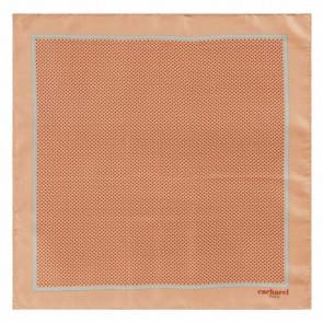 Silk scarf Naïades Corail