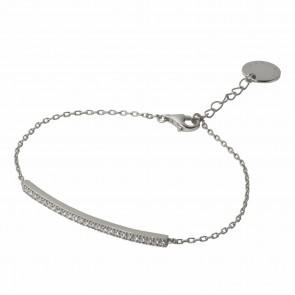 Bracelet Courbe Silver