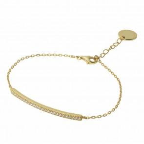 Bracelet Courbe Gold