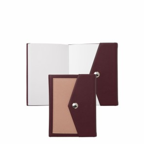 Note pad A6 Bird Bordeaux