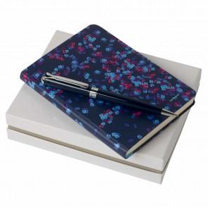 Set Tourbillon Bleu (ballpoint pen & note pad A6)