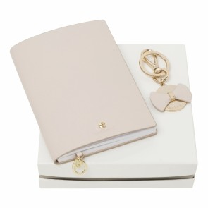 Set Beaubourg Light Pink (note pad A6 & key ring)