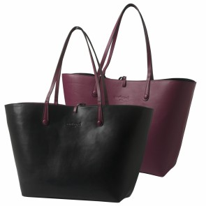 Shopping bag Tourbillon Reversible Bordeaux-Noir