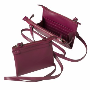 Lady bag Tourbillon Bordeaux