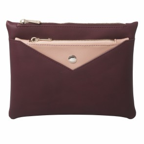 Lady bag Bird Bordeaux