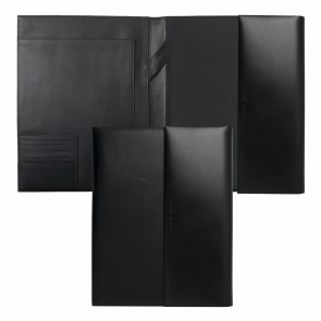 Conference folder A4 Caption Contrast Black