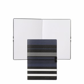 Note pad A6 Storyline Stripes Blue