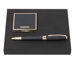 Set Essential Lady Dark Blue (ballpoint pen & mirror)