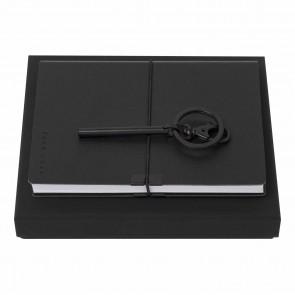 Set HUGO BOSS Black (note pad A6 & key ring)