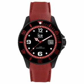 ICE steel-Black red-Large (L)