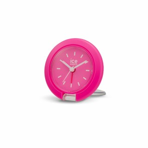Travel clock-IW-Neon Pink-7,5cm