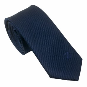 Silk Tie Element Navy