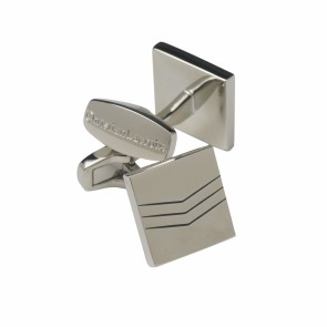 Cufflinks Double Chevron