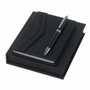 Set Christian Lacroix Black (ballpoint pen & note pad A6)