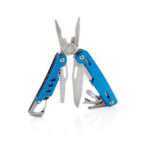 Solid multitool with carabiner,
