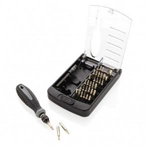 38 PCS tool set, black