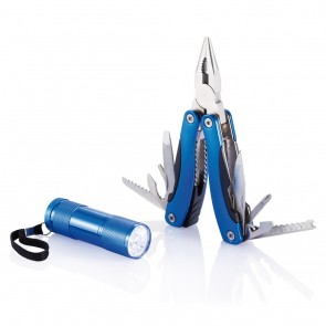 Multitool and torch set,