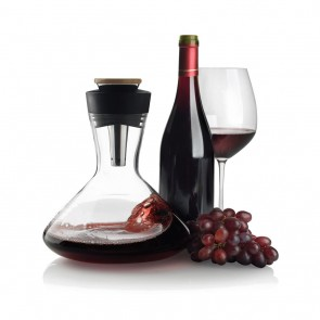 Aerato red wine carafe, black