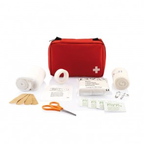 Mail size first aid kit,