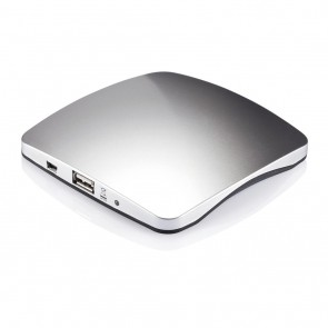 Window solar charger 1.400mAh, silver