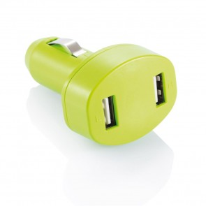Double USB car charger,