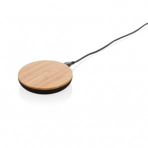 Bamboo X 5W wireless charger, brown