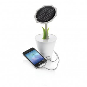 Solar Sunflower 2.500mAh, white