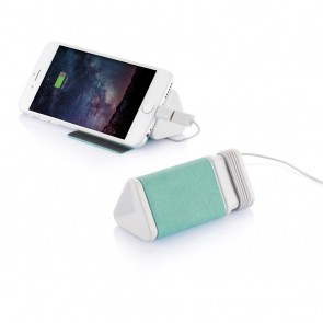 Dobble cable & 3.000mAh powerbank, green