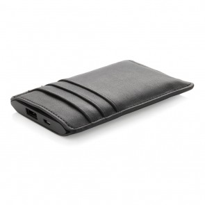 Swiss Peak Powerbank wallet, black