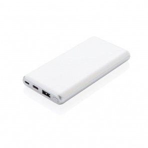 Ultra fast 10.000 mAh powerbank with PD, white