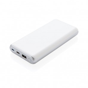 Ultra fast 20.000 mAh powerbank with PD, white