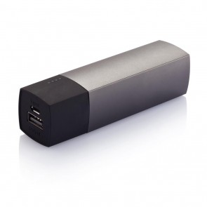 Swiss Peak powerbank 5.000 mAh, grey/black