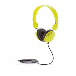 Headphone, green/black