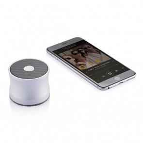 3W Anodized speaker, silver/black