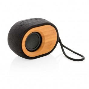 Bamboo X  speaker, black