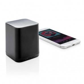 Wireless light up logo speaker, black