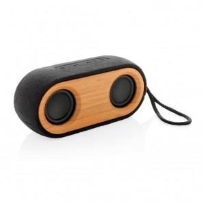 Bamboo X double speaker, black