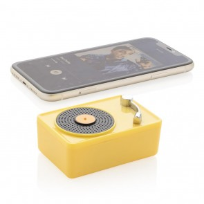 Mini Vintage 3W wireless speaker,