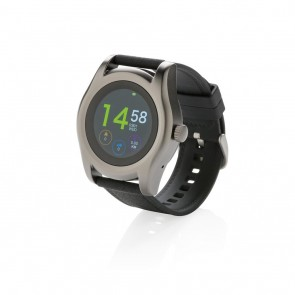 Swiss Peak smart watch, black