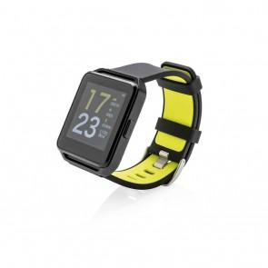 Full colour activity watch, black