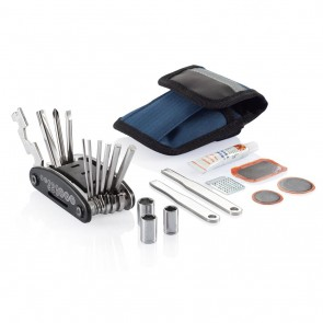 Bike repair kit, blue